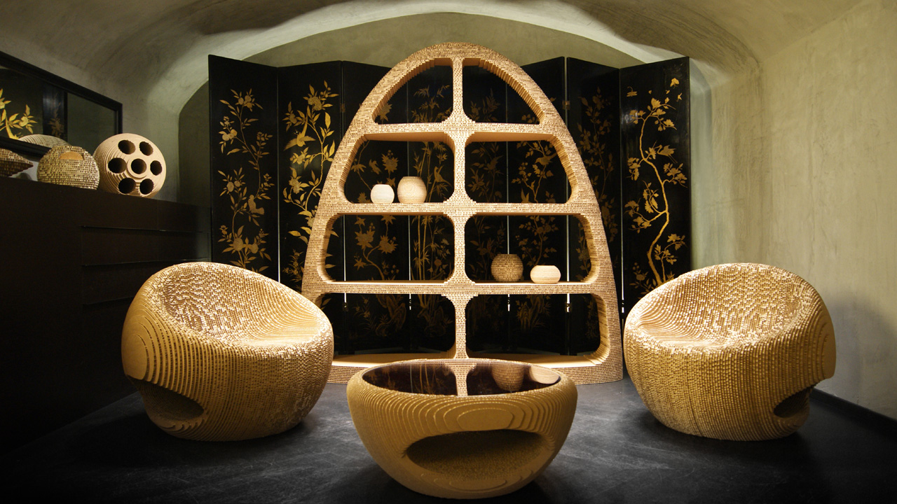 Luxury Cardboard Design Giancarlo Zema Design Group